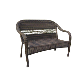 Garden Treasures Severson Steel Patio Loveseat