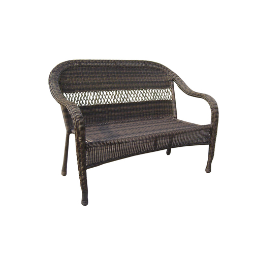 Garden Treasures Severson Wicker Patio Chair & Bench at Lowes Seating Out