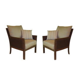 allen + roth Set of 2 Binkley Patio Chair