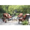 allen + roth Pardini 2-Piece Aluminum Patio Conversation Set