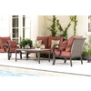 allen + roth Pardini Aluminum Patio Conversation Chair