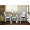 Garden Treasures 3-Piece Chapel Cove Cushioned Aluminum Patio Balcony-Height Set