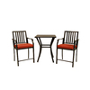 Garden Treasures Hidden River 3-Piece Extruded Aluminum Patio Dining Set
