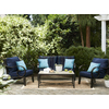 allen + roth Pardini 2-Piece Wicker Patio Conversation Set