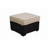 allen + roth Blaney Wicker Ottoman