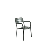Aluminum Stackable Patio Dining Chair