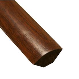 easoon 0.75-in x 72-in Brown/Tan Quarter Round Floor Moulding