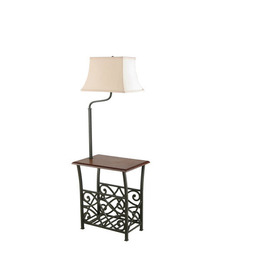 Shop Style Selections 54-in Indoor Floor Lamp with Shade at Lowes.