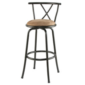 Cooper Dark Champagne 30-in Bar Stool
