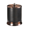 allen + roth Brinkley Handsome Oil Rubbed Bronze Metal Bathroom Canister