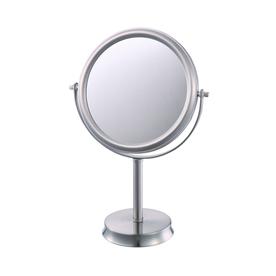 allen + roth Brinkley Nickel Mirrored Glass/Metal Countertop Vanity Mirror