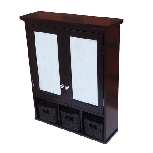 Wood Frame Medicine Cabinet | Buy.com