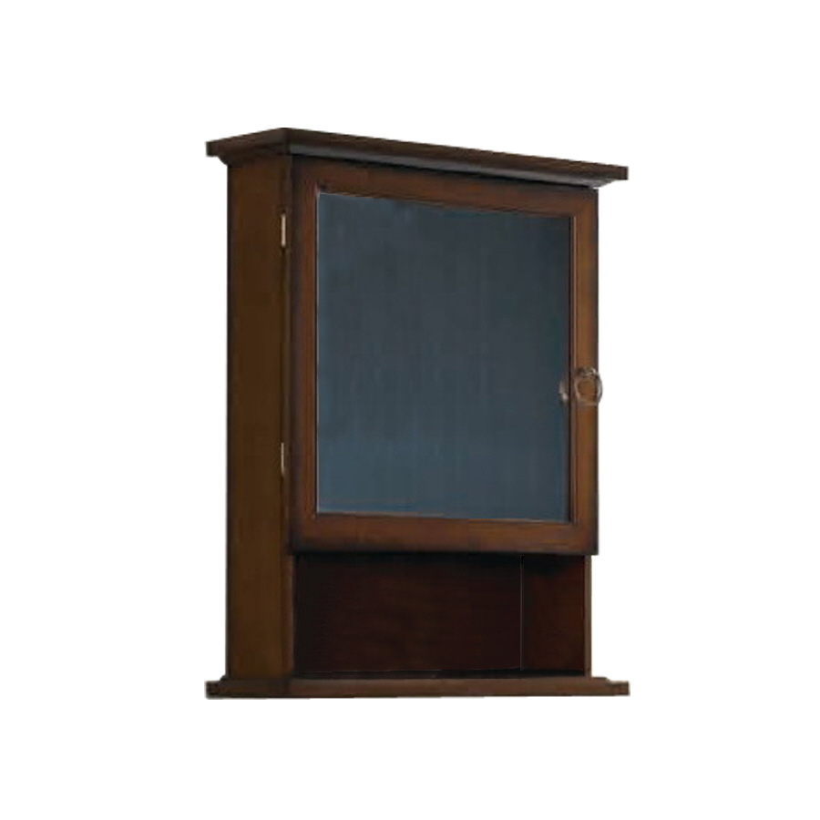 roth 20 5 in x 26 in mdf surface mount medicine cabinet at