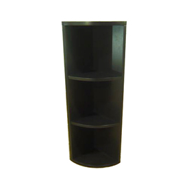 allen + roth 6.5-in W x 26-in H x 6.5-in D Corner Wall Cabinet