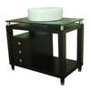 allen + roth 36-in Espresso Single Sink Bathroom Vanity with Top