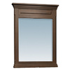 allen + roth 38-in H x 30-in W Allen + Roth Espresso Rectangular Bathroom Mirror