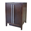 allen + roth Frankfort 24-in x 21-in Cocoa Contemporary Bathroom Vanity