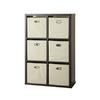 Style Selections 6-Cube Veneer Organizer
