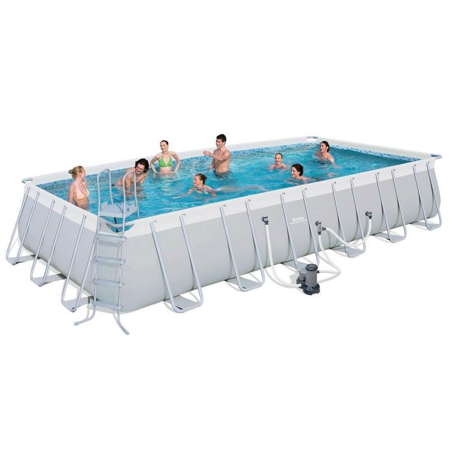 Above ground swimming pool tubular frame pools bestway l.549 x l.274 x h.122 cm