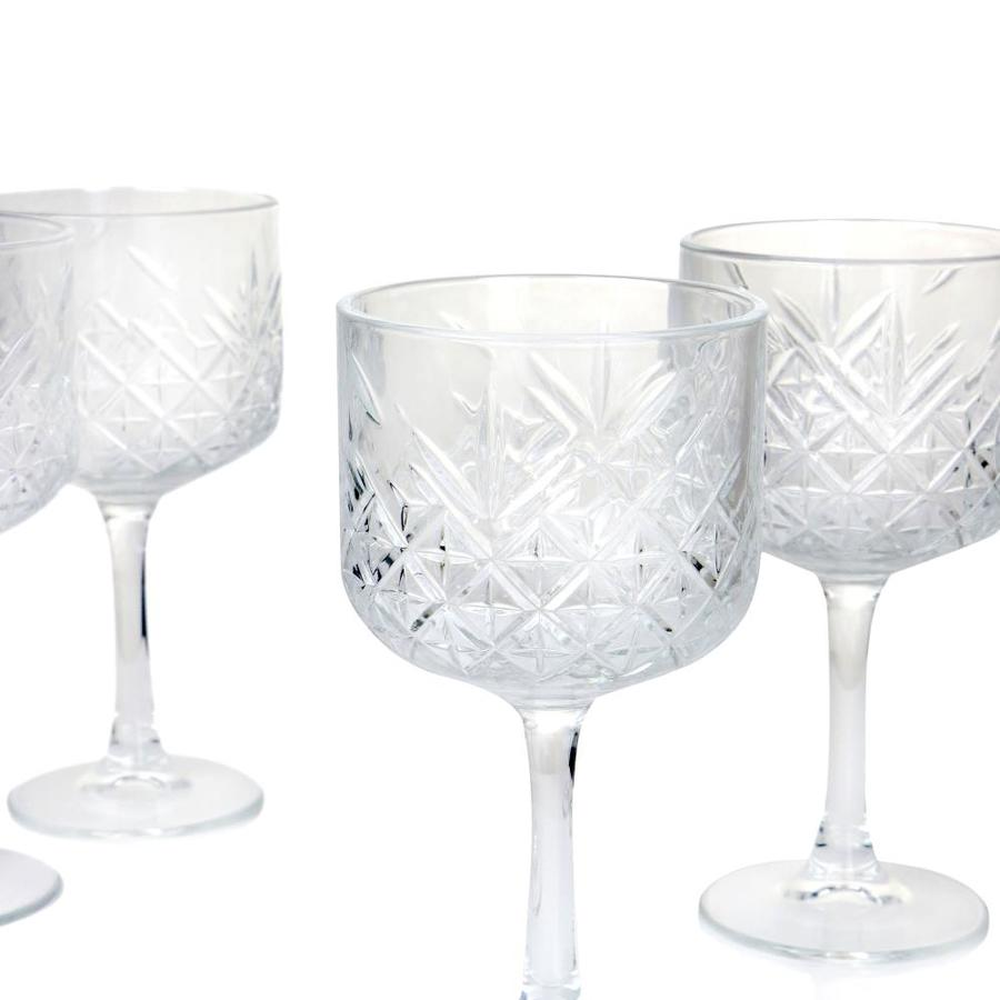 Set of Glasses Timeless Wine Glass 21 CL 4 Pieces Pasabahce giosal