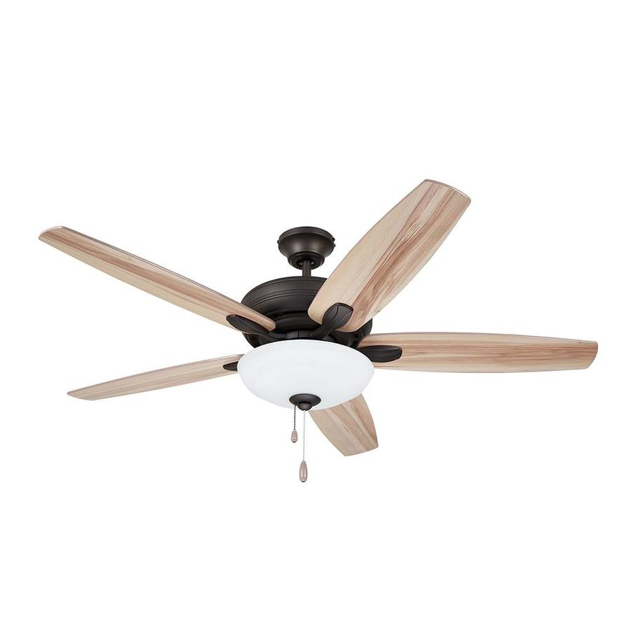 52 Inch 5 Blade Ceiling Fan with Light Kit  Barbeque Details about  /Emerson Fans Ashland