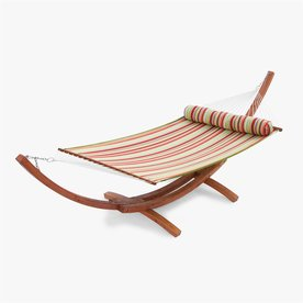 RST Brands Summer Stripe Quilted Hammock