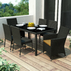 Sonax Park Terrace Glass Patio Dining Set