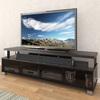CorLiving Bromley Ravenwood Black Rectangular Television Cabinet