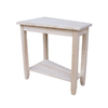 International Concepts Home Accents Rectangular End Table