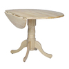 International Concepts Natural Round Dining Table