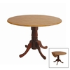 International Concepts Espresso Round Dining Table