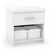 Sonax Willow Frost White Full Bedroom Set