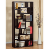 Enitial Lab Celine Espresso 32-in W x 71-in H x 12-in D 11-Shelf Bookcase