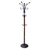 ORE International Cherry 12-Hook Coat Stand