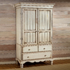 Hillsdale Furniture Wilshire Antique White Armoire