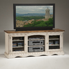 Hillsdale Furniture Wilshire Antique White Rectangular Television Cabinet