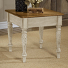 Hillsdale Furniture Wilshire Antique White Square End Table