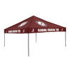 Logo Chairs 9-ft W x 9-ft L Square NCAA Alabama Crimson Tide Red Standard Canopy