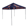 Logo Chairs 9-ft W x 9-ft L Square NCAA Ole Miss Rebels Blue Standard Canopy