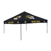 Logo Chairs Tailgating Tent 9-ft W x 9-ft L Square NCAA University of Missouri Tigers Steel Pop-Up Canopy