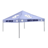 Logo Chairs Tailgating Tent 9-ft W x 9-ft L Square NCAA University of North Carolina Tar Heels Steel Pop-Up Canopy