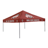 Logo Chairs 9-ft W x 9-ft L Square NCAA Ohio State Buckeyes Red Standard Canopy