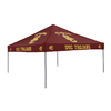 Logo Chairs 9-ft W x 9-ft L Square NCAA Usc Trojans Red Standard Canopy