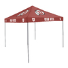 Logo Chairs 9-ft W x 9-ft L Square NCAA Utah Utes Red Standard Canopy
