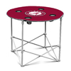 Logo Chairs 30-in x 30-in Circle Red Alabama Crimson Tide Folding Table
