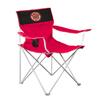 Logo Chairs NCAA Louisville Lafayette Ragin Cajuns Camping Chair