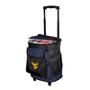 Logo Chairs West Virginia Mountaineers Wheeled Polyester Cooler