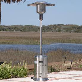 Fire Sense 46,000-BTU Stainless Steel Liquid Propane Patio Heater