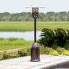 Fire Sense 47,000-BTU Hammer Tone Bronze Steel Liquid Propane Patio Heater