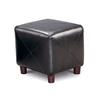Coaster Fine Furniture Black Square Ottoman